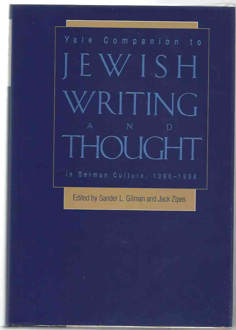 Image for YALE COMPANION TO JEWISH WRITING AND THOUGHT IN GERMAN CULTURE, 1096-1996