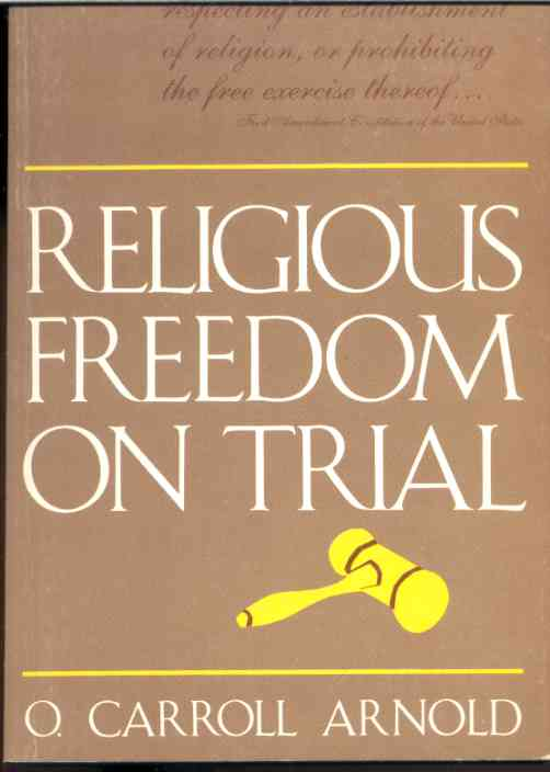 Image for RELIGIOUS FREEDOM ON TRIAL