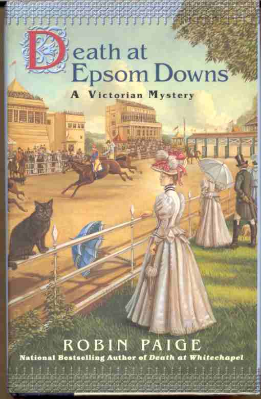 Image for DEATH AT EPSOM DOWNS