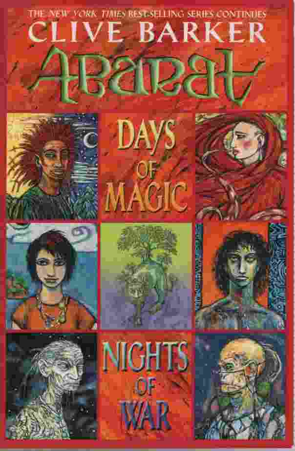 Image for ABARAT: DAYS OF MAGIC, NIGHTS OF WAR