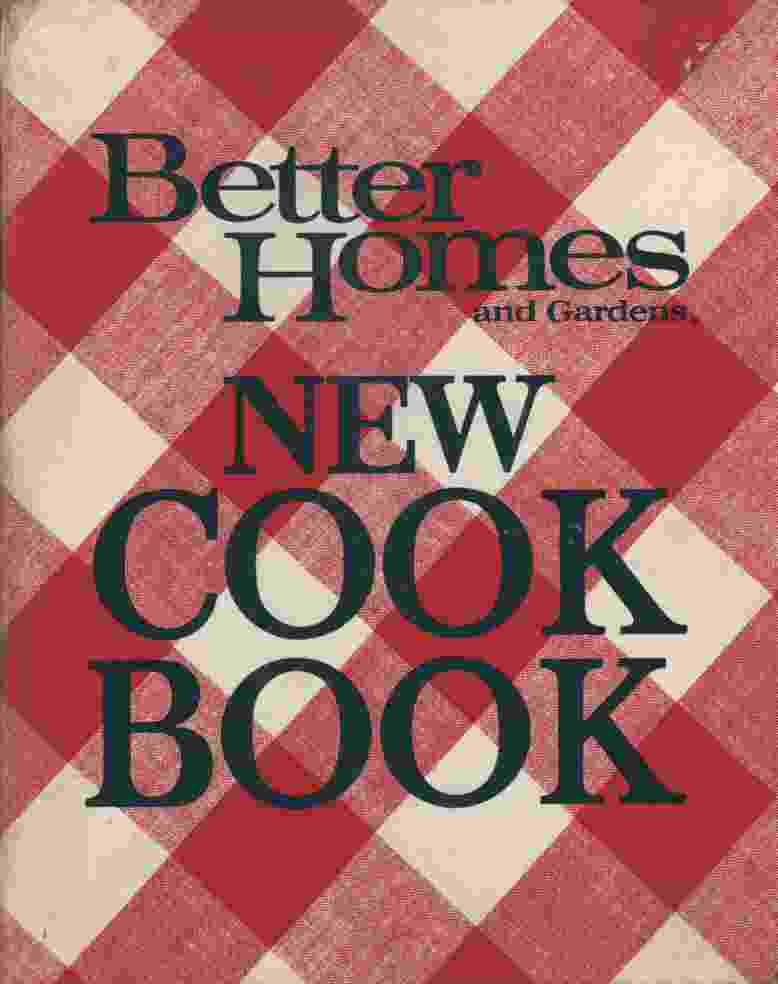 Image for NEW COOK BOOK, 1972