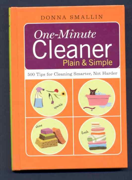 Image for ONE-MINUTE CLEANER PLAIN AND SIMPLE  500 Tips for Cleaning Smarter, Not Harder