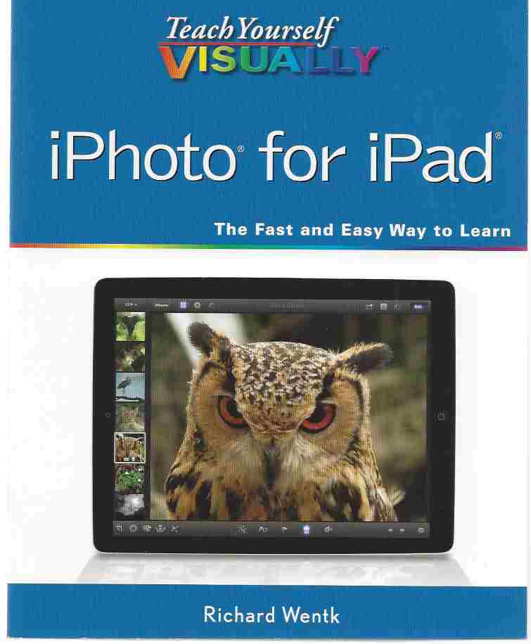Image for TEACH YOURSELF VISUALLY IPHOTO FOR IPAD