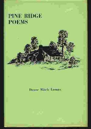 Image for PINE RIDGE POEMS