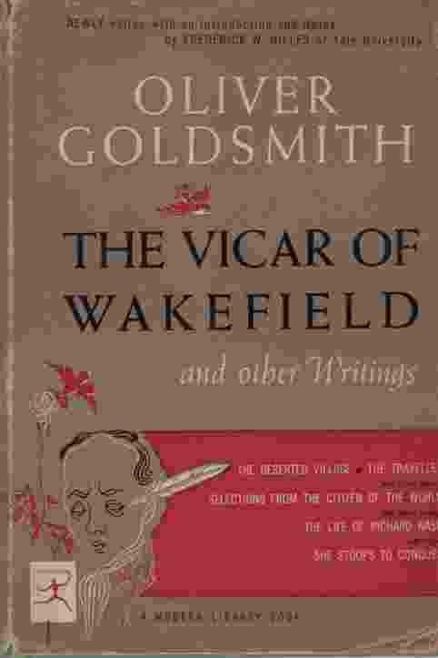 Image for THE VICAR OF WAKEFIELD, AND OTHER WRITINGS
