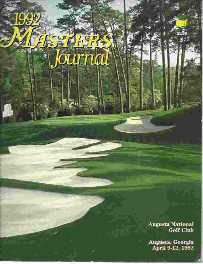 Image for 1992 MASTERS JOURNAL