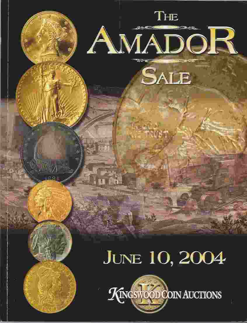 Image for THE AMADOR SALE, JUNE 10, 2004