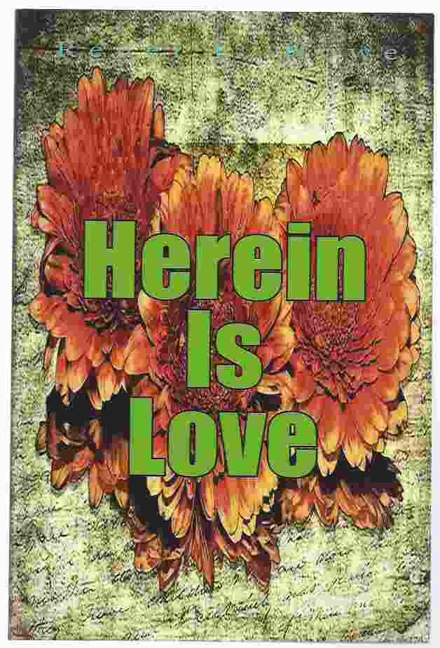 Image for HEREIN IS LOVE