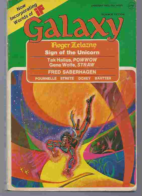 Image for GALAXY, JANUARY 1975