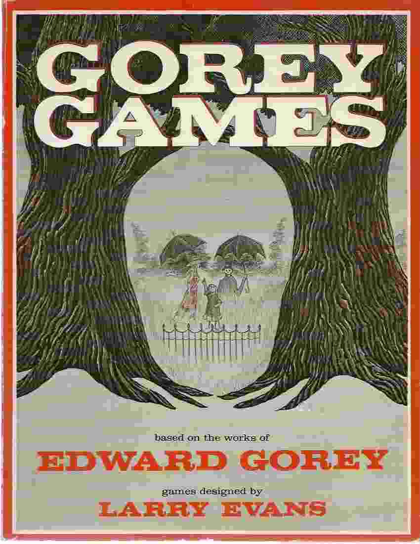Image for GOREY GAMES [signed]