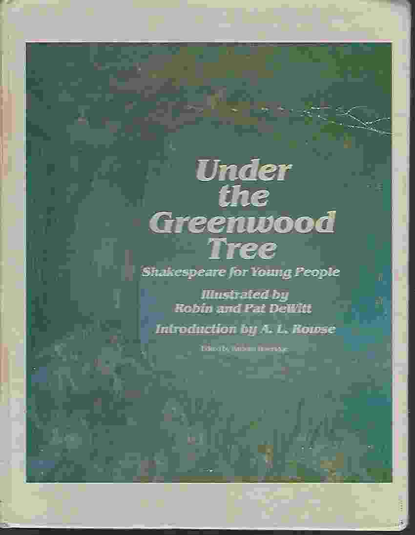 Image for UNDER THE GREENWOOD TREE Shakespeare for Young People
