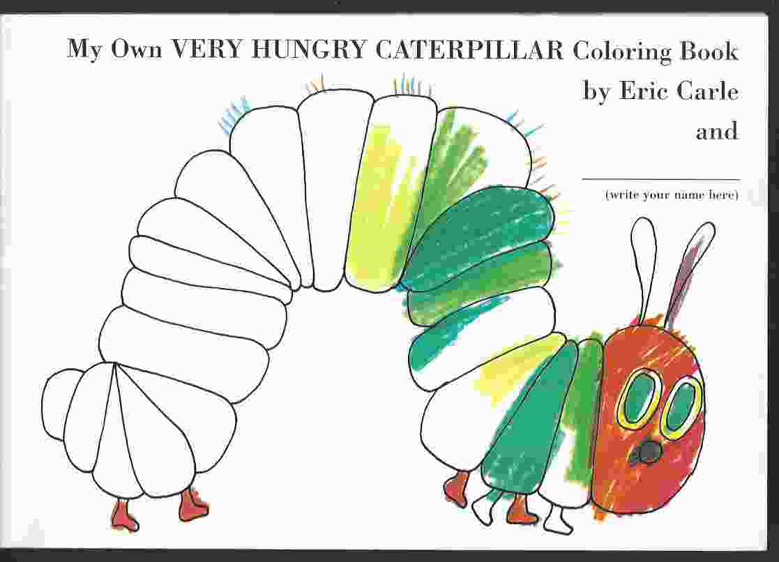 Image for MY OWN VERY HUNGRY CATERPILLAR COLORING BOOK