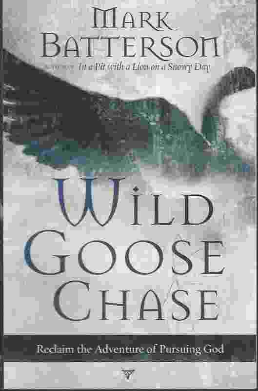 Image for WILD GOOSE CHASE  Reclaim the Adventure of Pursuing God
