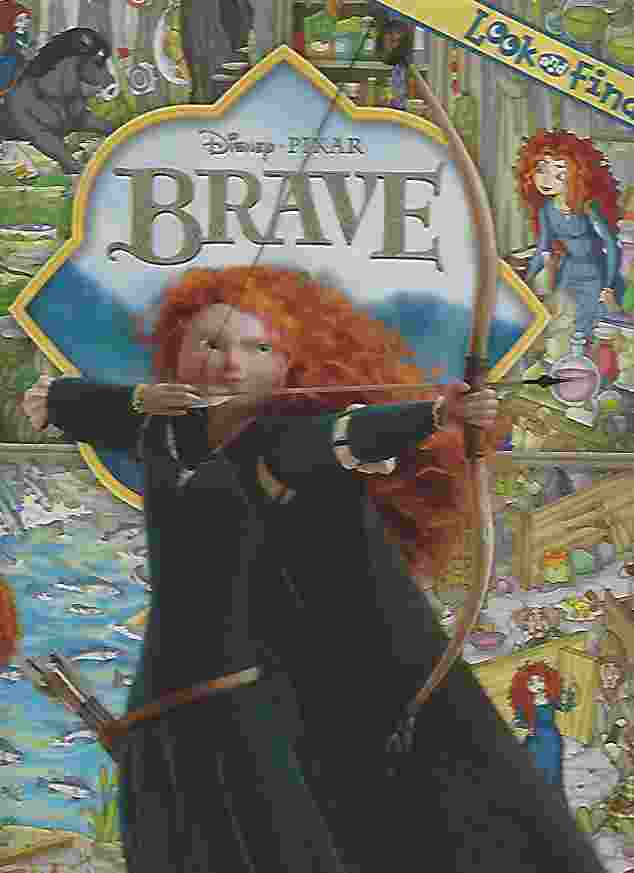 Image for DISNEY LOOK AND FIND: BRAVE