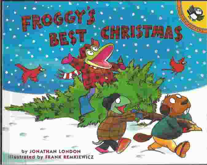 Image for FROGGY'S BEST CHRISTMAS