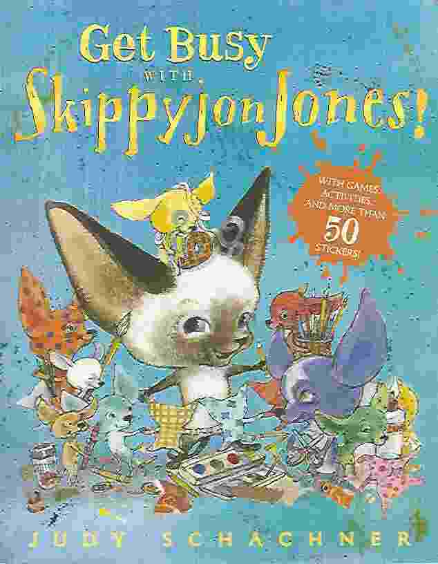 Image for GET BUSY WITH SKIPPYJON JONES!