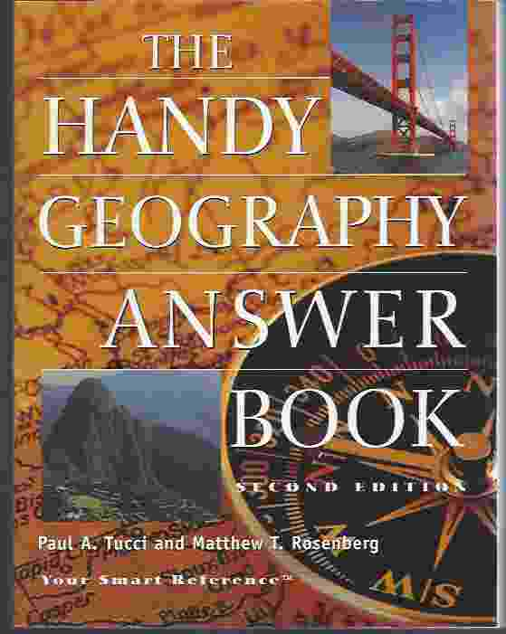 Image for THE HANDY GEOGRAPHY ANSWER BOOK