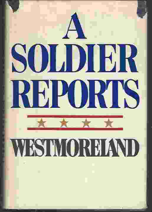 Image for A SOLDIER REPORTS