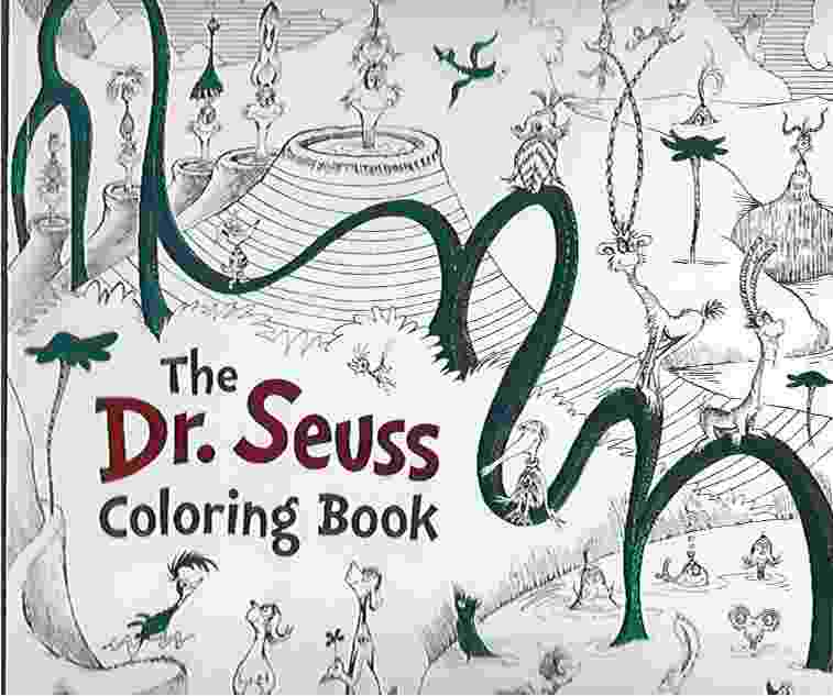 Image for THE DR. SEUSS COLORING BOOK