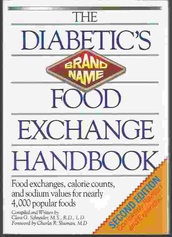 Image for THE DIABETIC'S BRAND-NAME FOOD EXCHANGE HANDBOOK