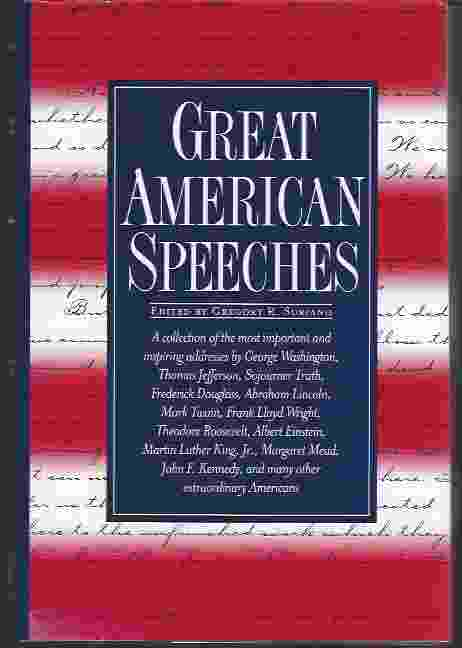 Image for GREAT AMERICAN SPEECHES