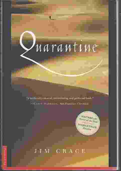 Image for QUARANTINE  A Novel