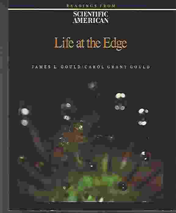 Image for LIFE AT THE EDGE  Readings from Scientific American Magazine