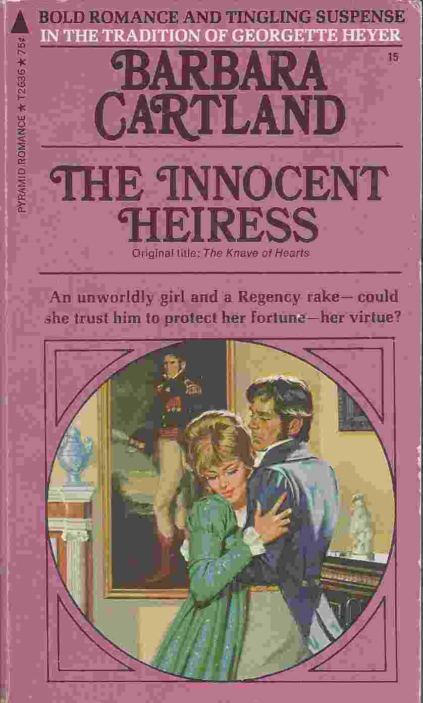 Image for THE INNOCENT HEIRESS Original Title: the Knave of Hearts