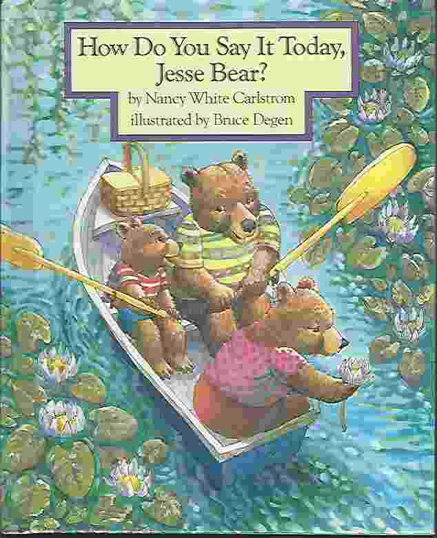 Image for HOW DO YOU SAY IT TODAY, JESSE BEAR?