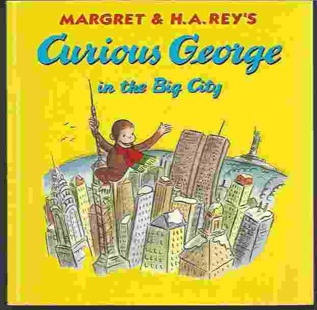 Image for CURIOUS GEORGE IN THE BIG CITY