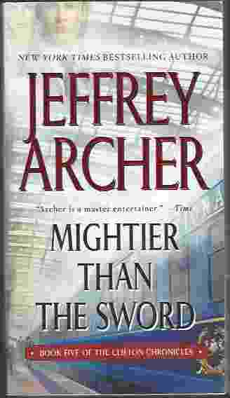 Image for MIGHTIER THAN THE SWORD [TALL PB]  A Novel