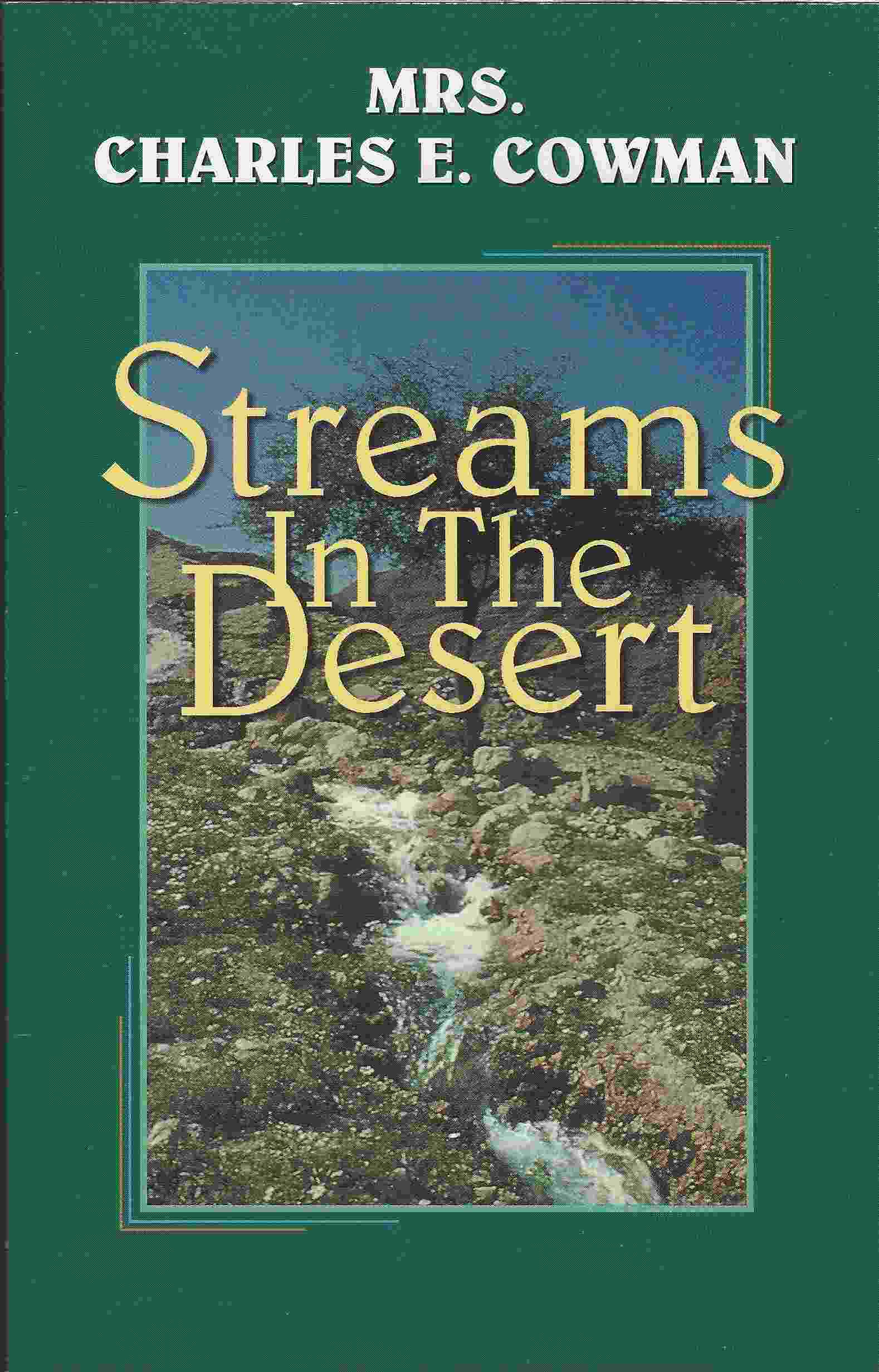 Image for STREAMS IN THE DESERT 1