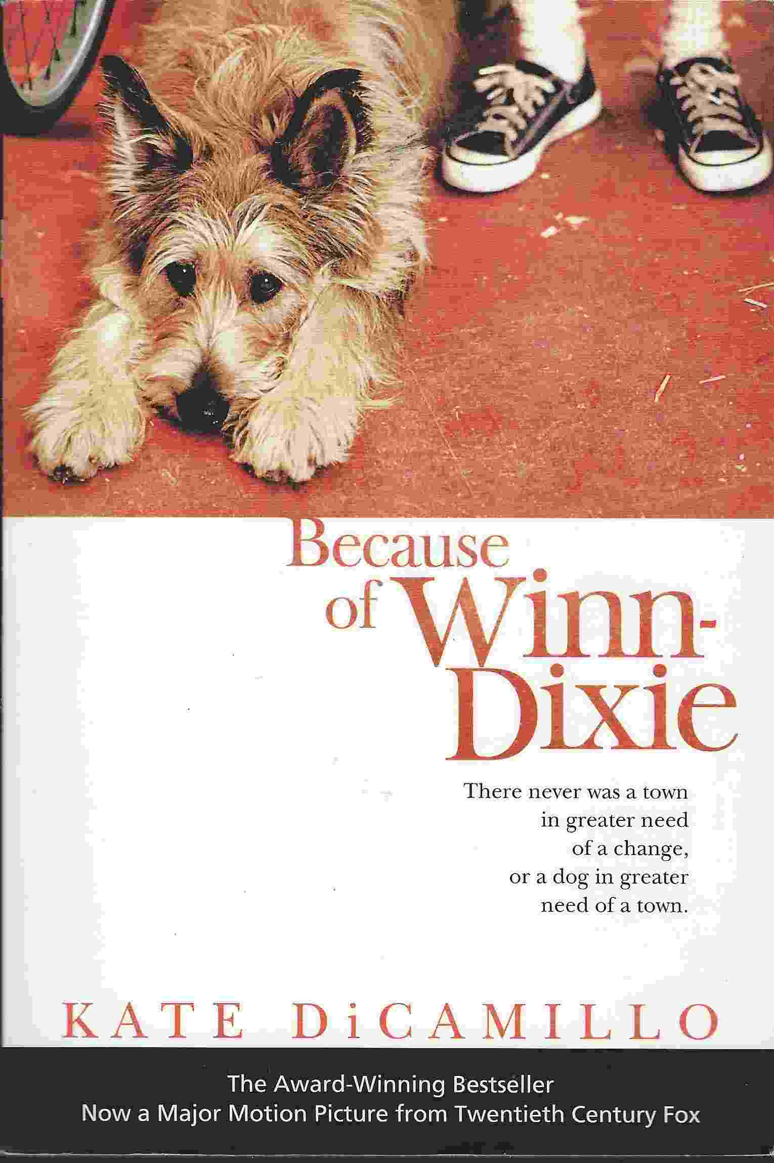Image for BECAUSE OF WINN-DIXIE [MOVIE TIE-IN]