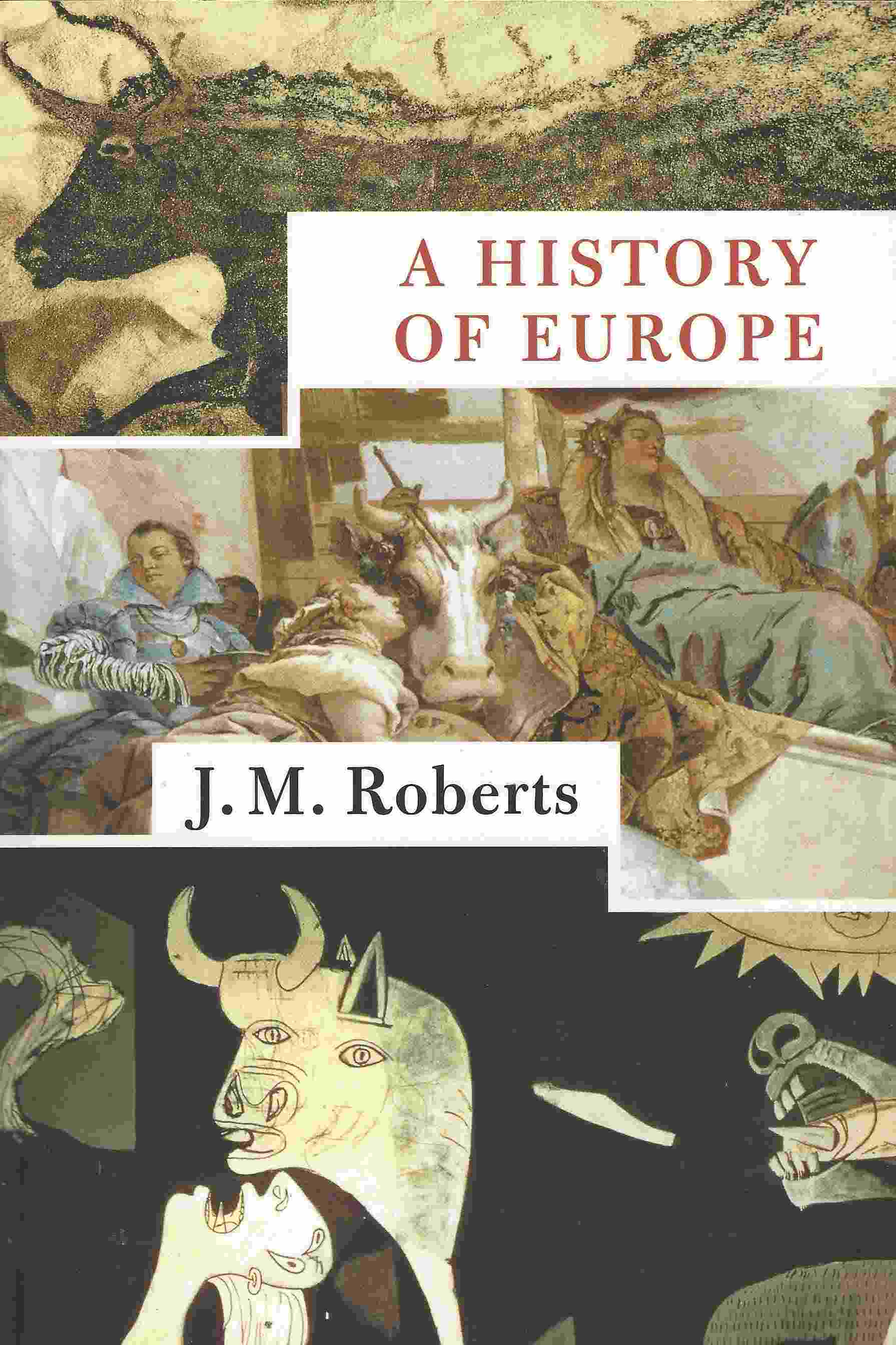 Image for A HISTORY OF EUROPE