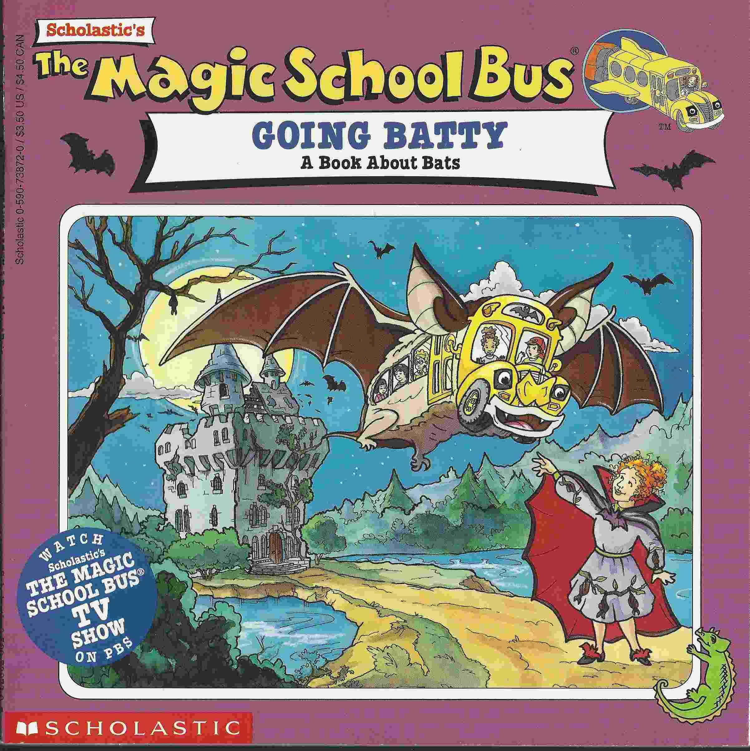 Image for THE MAGIC SCHOOL BUS GOING BATTY A Book about Bats