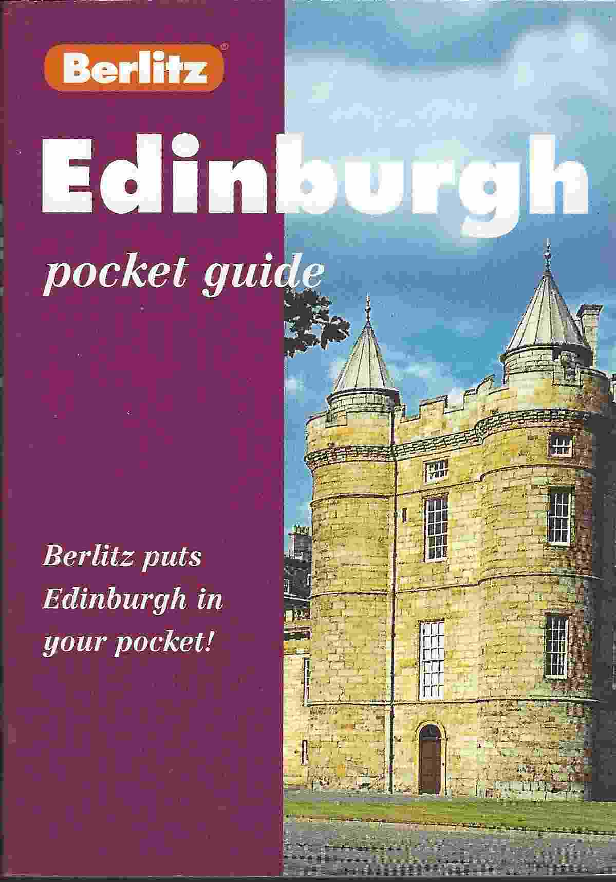 Image for BERLITZ EDINBURGH POCKET GUIDE