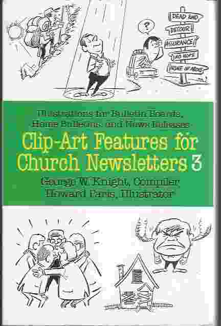 Image for CLIP ART FEATURES FOR CHURCH NEWSLETTERS, NO 3