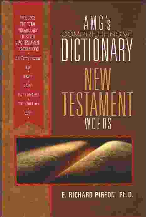 Image for AMG'S COMPREHENSIVE DICTIONARY OF NEW TESTAMENT WORDS