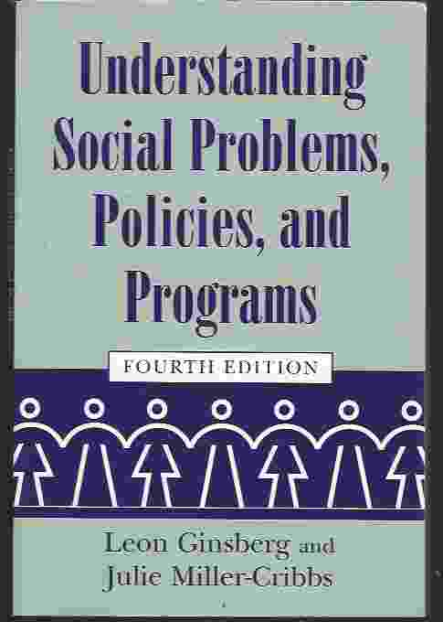 Image for UNDERSTANDING SOCIAL PROBLEMS, POLICIES, AND PROGRAMS, 4TH EDITION