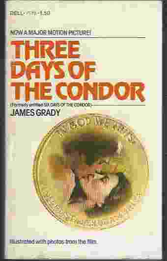 Image for THREE DAYS OF THE CONDOR [MOVIE TIE-IN]