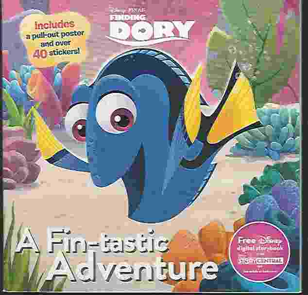 Image for FINDING DORY: A FIN-TASTIC ADVENTURE