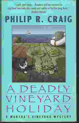 Image for A DEADLY VINEYARD HOLIDAY