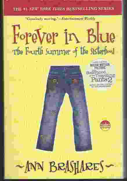 Image for FOREVER IN BLUE  The Fourth Summer of the Sisterhood