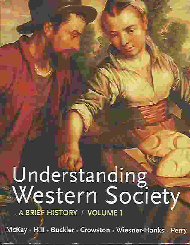 Image for UNDERSTANDING WESTERN SOCIETY, VOLUME 1  From Antiquity to the Enlightenment: A Brief History: From Antiquity to Enlightenment