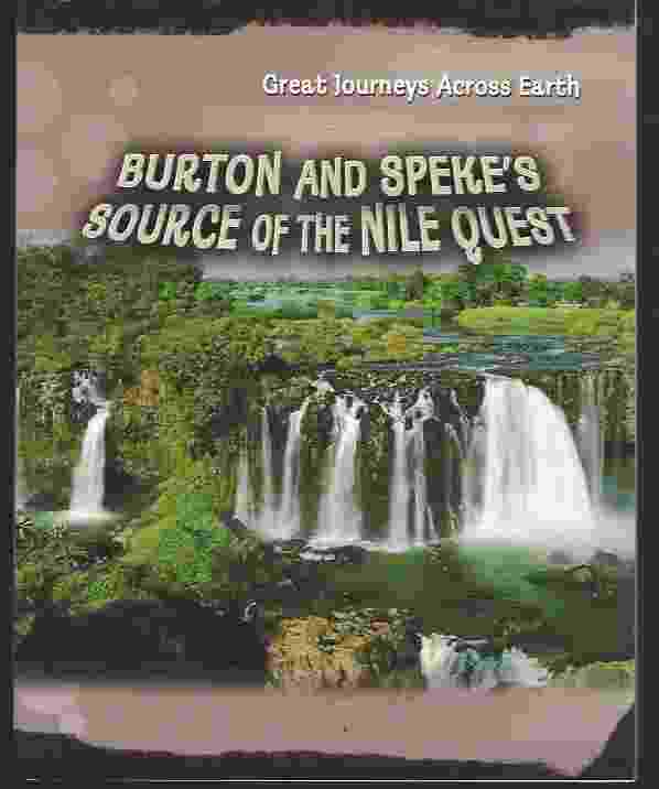 Image for BURTON AND SPEKE'S SOURCE OF THE NILE QUEST