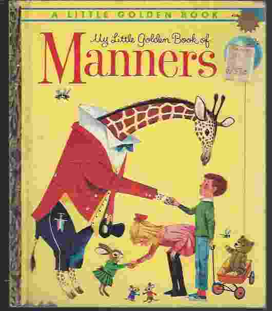 Image for MY LITTLE GOLDEN BOOK OF MANNERS