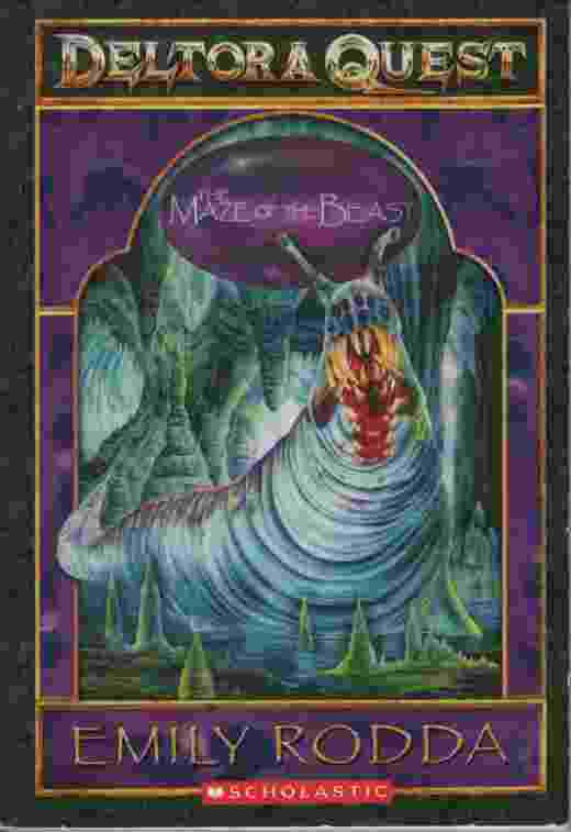 Image for DELTORA QUEST: THE MAZE OF THE BEAST