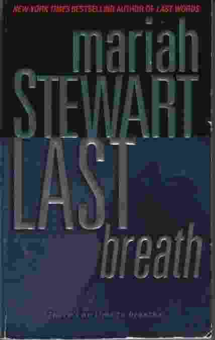 Image for LAST BREATH  A Novel of Suspense