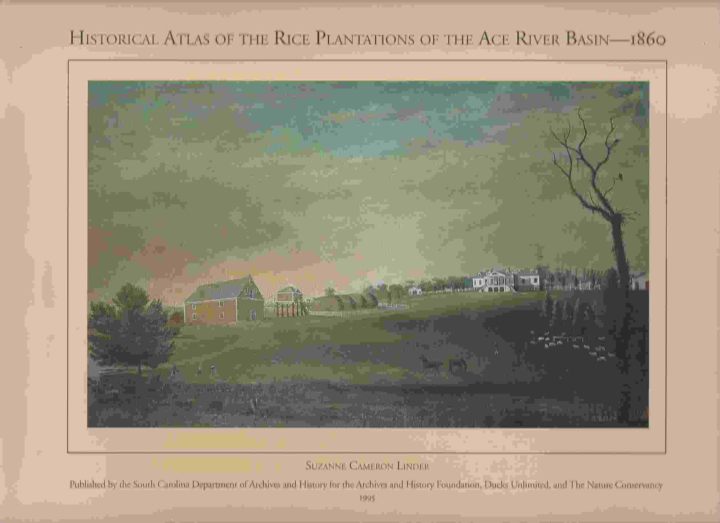Image for HISTORICAL ATLAS OF THE RICE PLANTATIONS OF THE ACE RIVER BASIN--1860