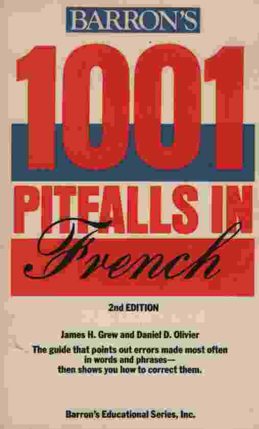 Image for 1001 PITFALLS IN FRENCH